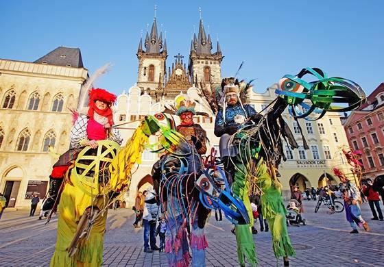Карновал в Праге